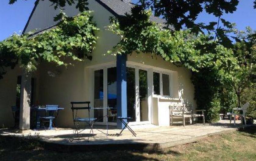 Location de vacances - Villa à Arzon - Maison côté ouest et sud