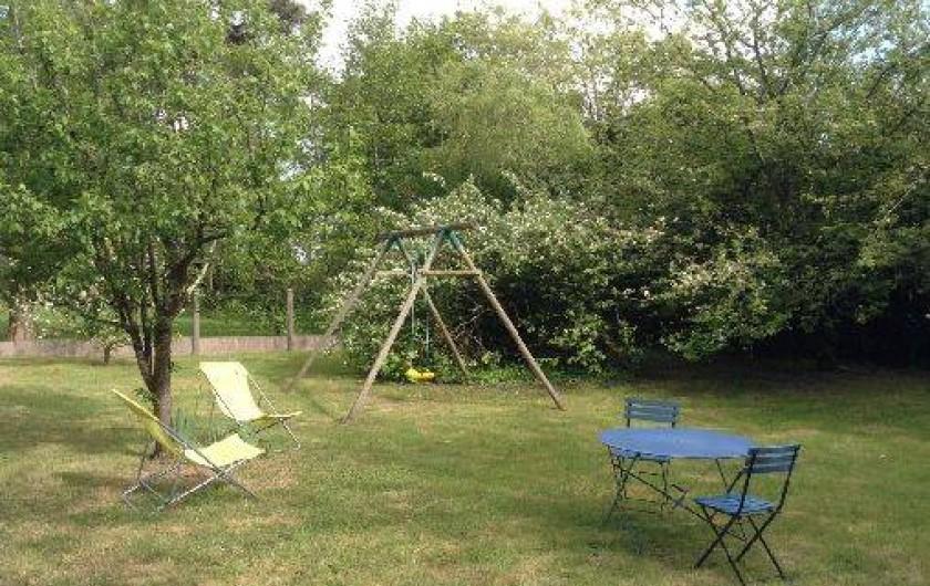 Location de vacances - Villa à Arzon - Le jardin