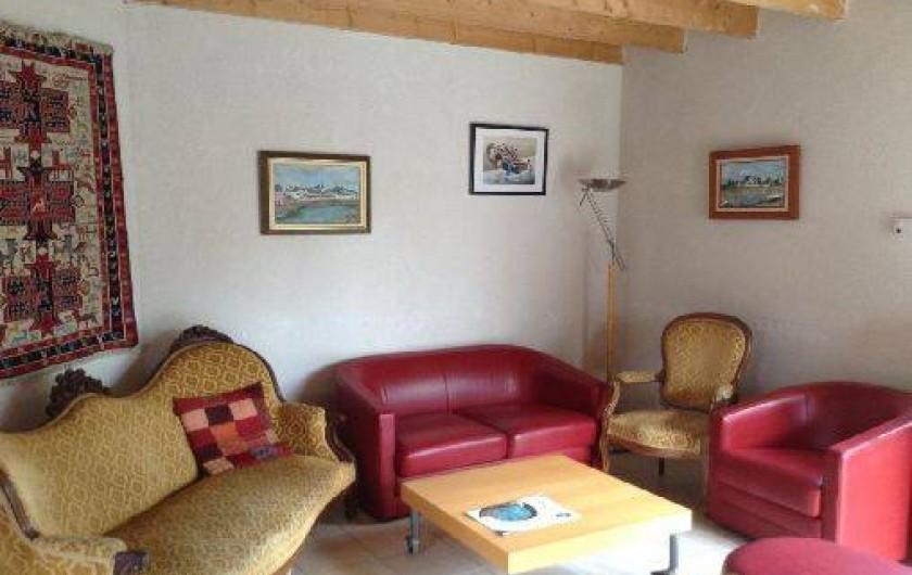 Location de vacances - Villa à Arzon - Le salon