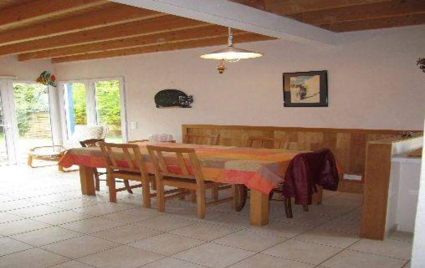 Location de vacances - Villa à Arzon - La salle à manger