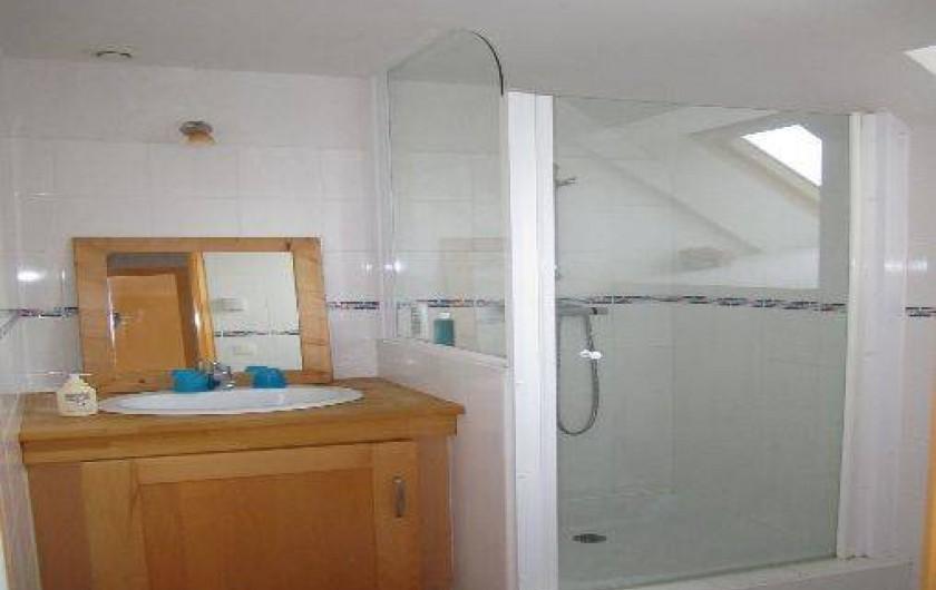 Location de vacances - Villa à Arzon - La salle d'eau