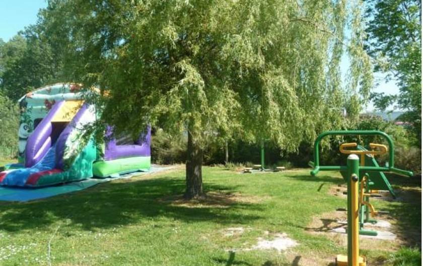 Location de vacances - Bungalow - Mobilhome à Le Crotoy - Aire de jeux