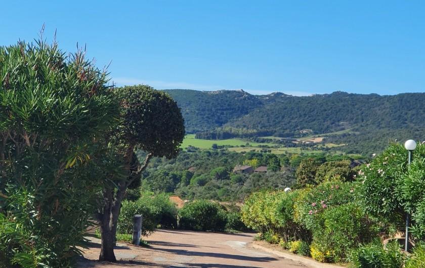 Location de vacances - Villa à Porto-Vecchio - Chemin /Route de la résidence