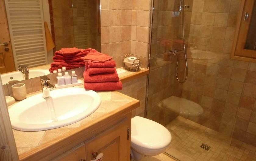 Location de vacances - Chalet à Megève - une salle d 'eau