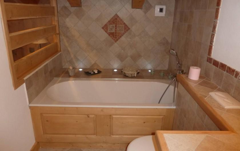 Location de vacances - Chalet à Megève - salle de bain