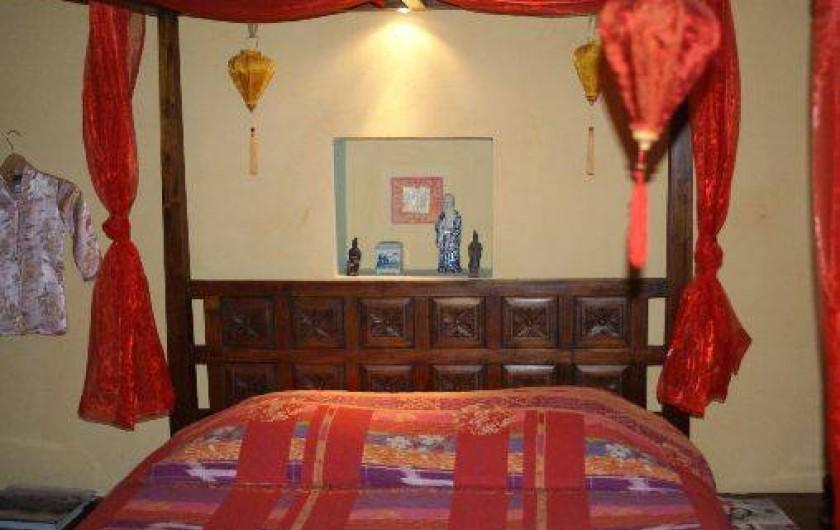 Location de vacances - Château - Manoir à Bourg-Saint-Andéol - appartement cocons de Xi'an ( 5 pers)