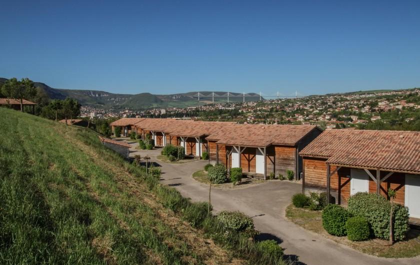Location de vacances - Bungalow - Mobilhome à Millau - Chalet hôteliers