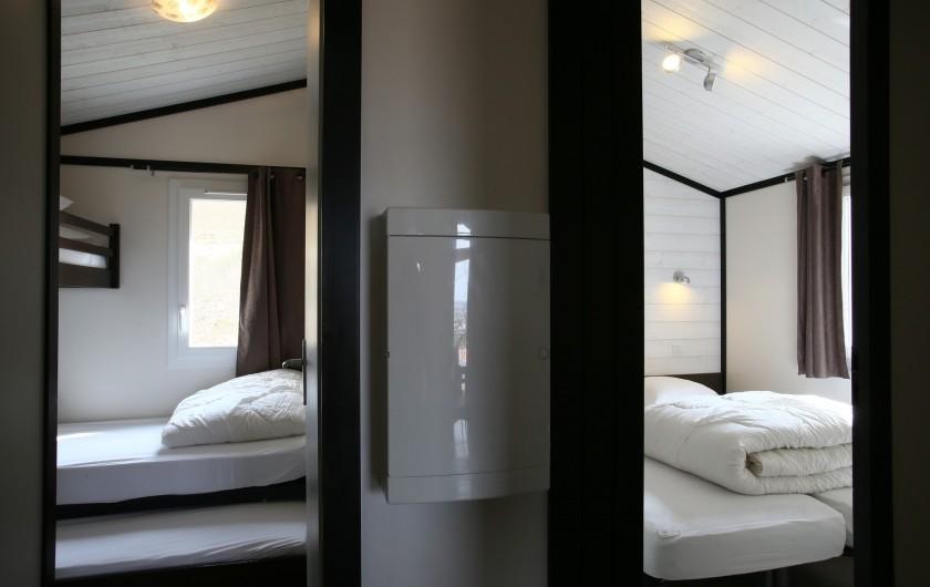 Location de vacances - Bungalow - Mobilhome à Millau - Chalet du Causse (chambres, max 5 personnes)