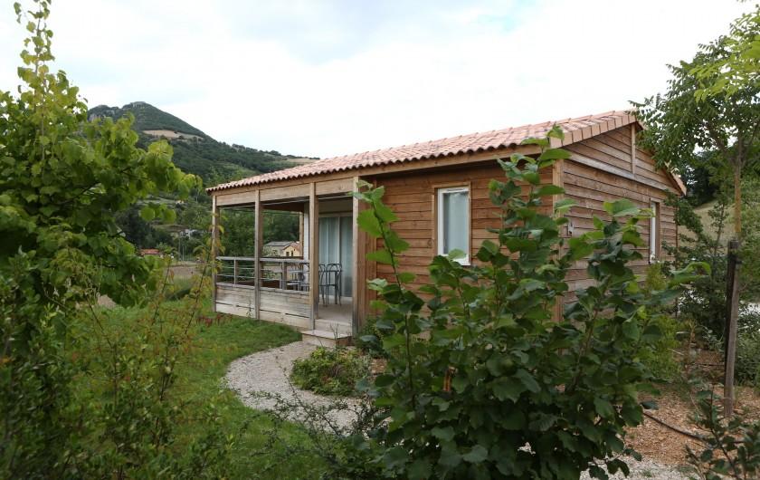 Location de vacances - Bungalow - Mobilhome à Millau - Chalets du Tarn (extérieur)