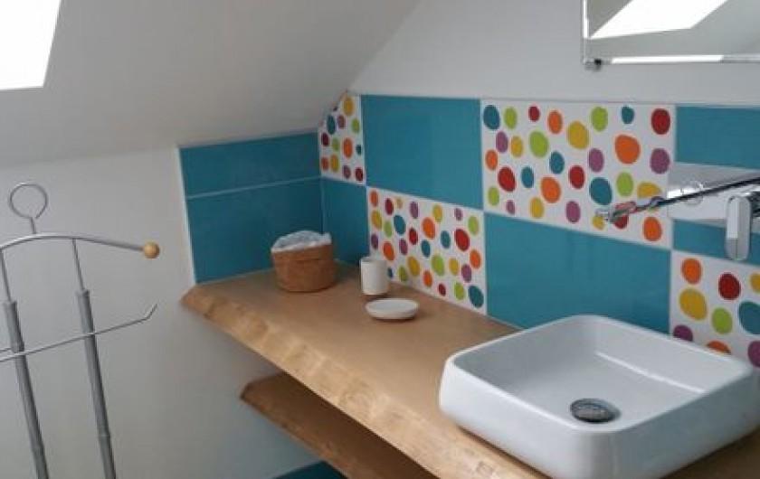 Location de vacances - Gîte à Raon-lès-Leau - Salle d'eau Chambre 3