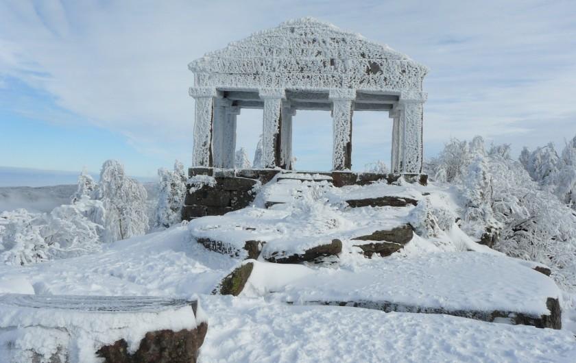 Location de vacances - Gîte à Raon-lès-Leau - Dentelle de neige sur le Donon