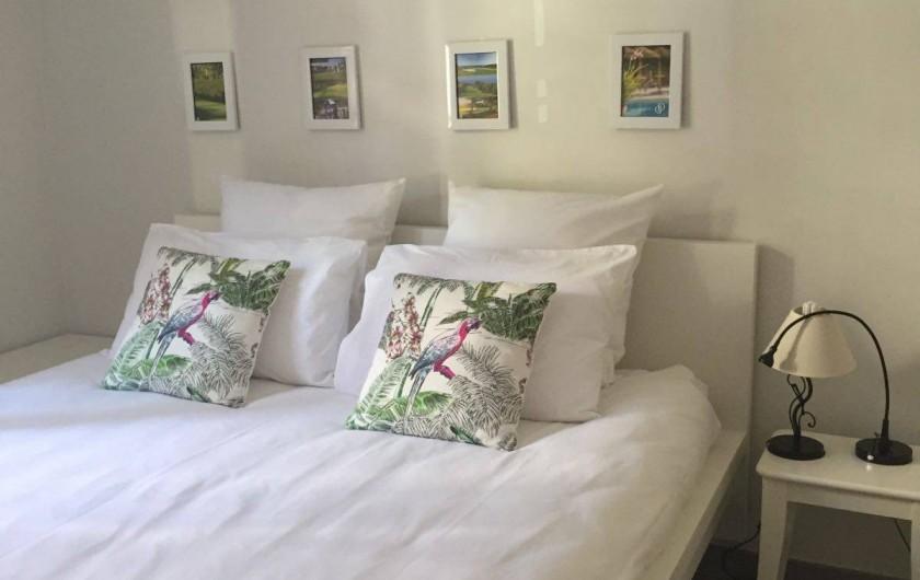 Location de vacances - Appartement à Saint-Cyr-sur-Mer - Chambre N°2