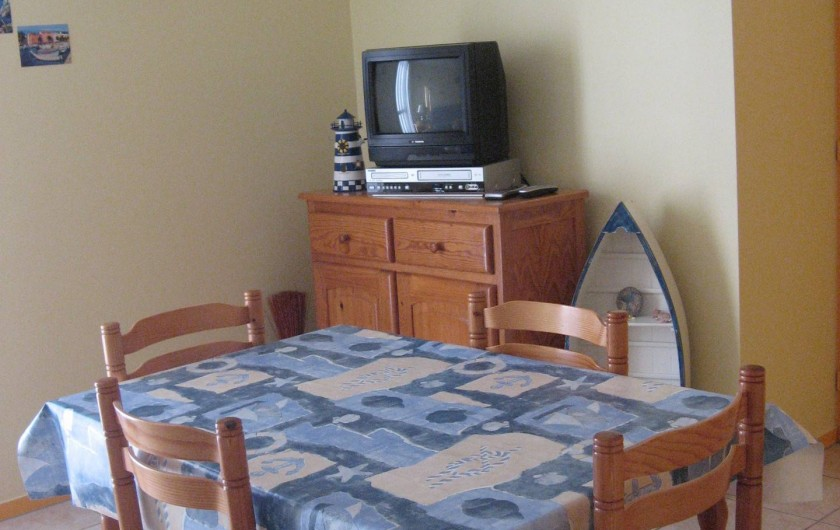 Location de vacances - Appartement à Longeville-sur-Mer
