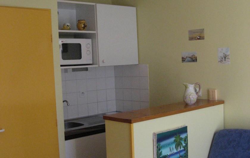 Location de vacances - Appartement à Longeville-sur-Mer - coin cuisine
