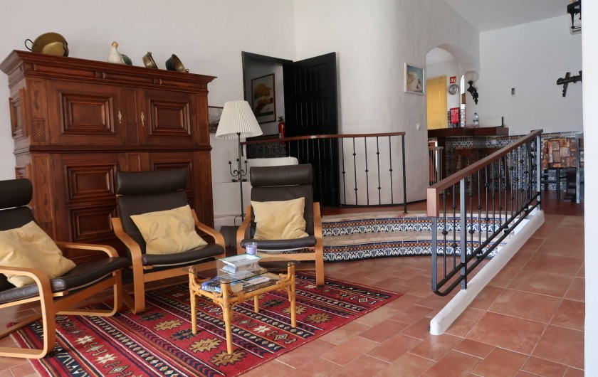 Location de vacances - Villa à Albufeira - Salon