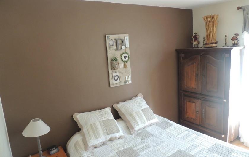 Location de vacances - Villa à Malves-en-Minervois - Chambre avec un lit en 160