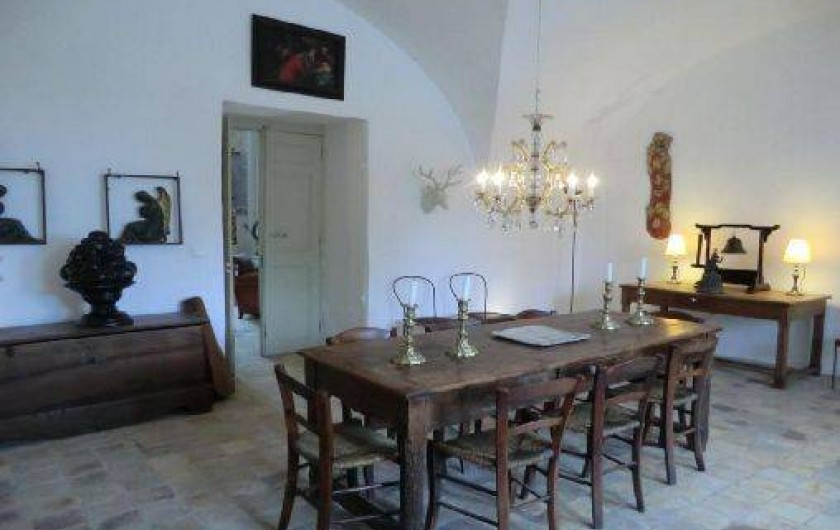 Location de vacances - Chambre d'hôtes à Saint-Lager-Bressac - Petite Salle à manger