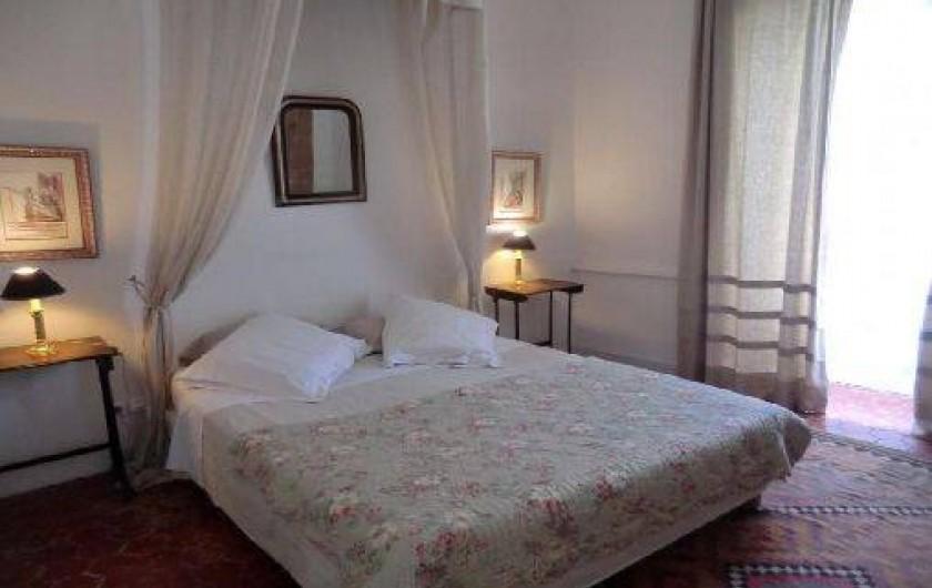 Location de vacances - Chambre d'hôtes à Saint-Lager-Bressac - Chambre parentale de la Suite TOUR
