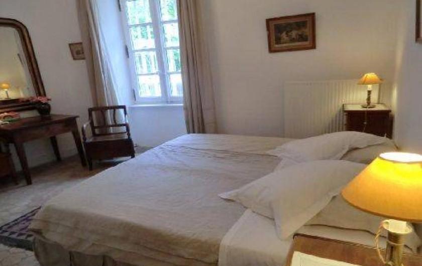 Location de vacances - Chambre d'hôtes à Saint-Lager-Bressac - Chambre PARC