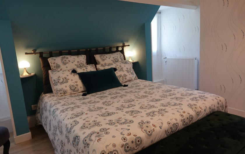 Location de vacances - Maison - Villa à Sarlat-la-Canéda - Chambre Écureuil