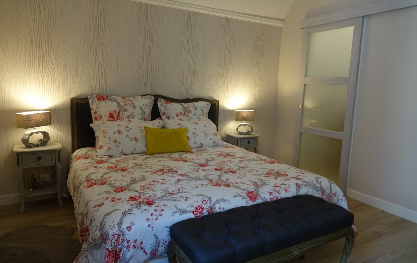 Location de vacances - Maison - Villa à Sarlat-la-Canéda - Salle de bain Chambre Rouge-Gorge