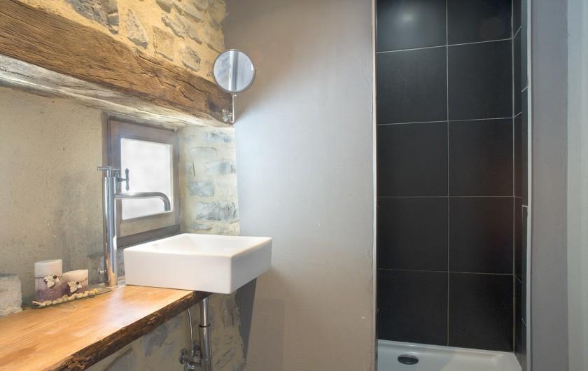 Location de vacances - Mas à Bouquet - La salle de bain n°3