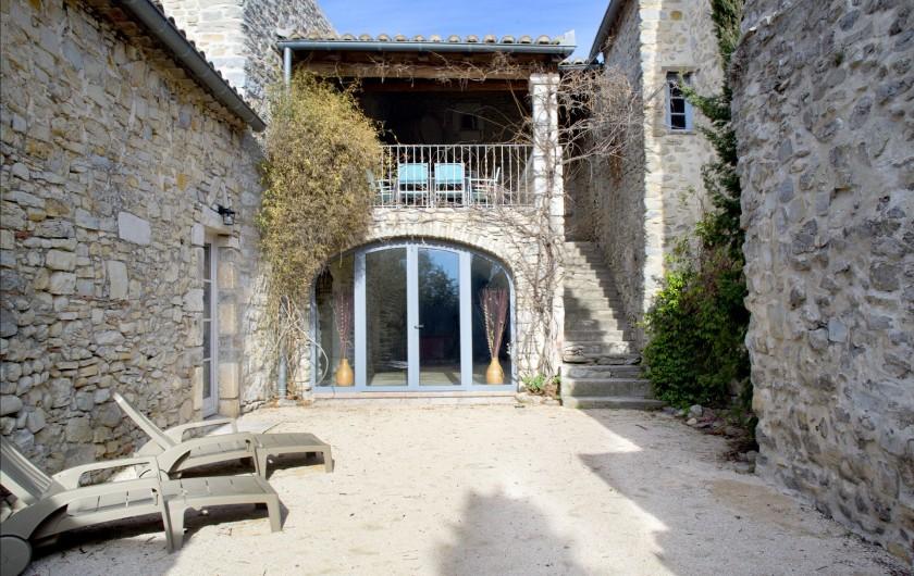 Location de vacances - Mas à Bouquet - La cour