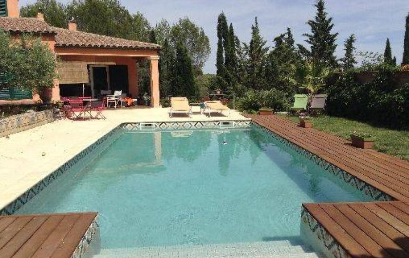 Location de vacances - Villa à Grabels