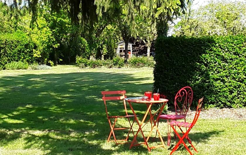 Location de vacances - Gîte à Beaudéduit - Jardin.