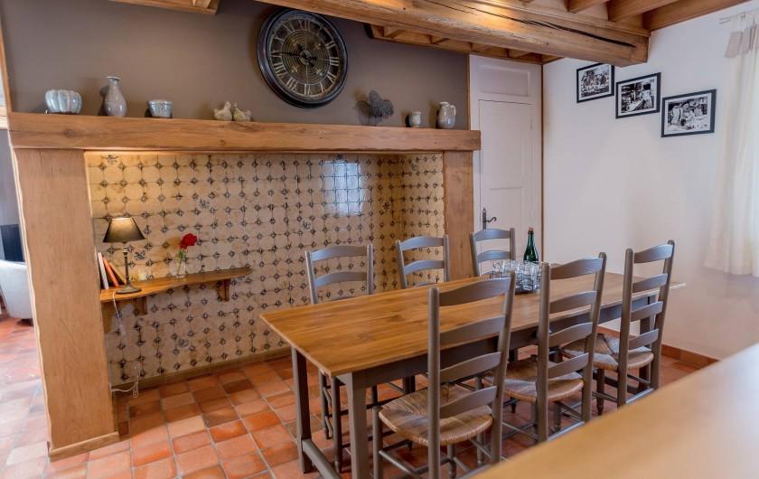 Location de vacances - Gîte à Beaudéduit - Cheminée Picarde.