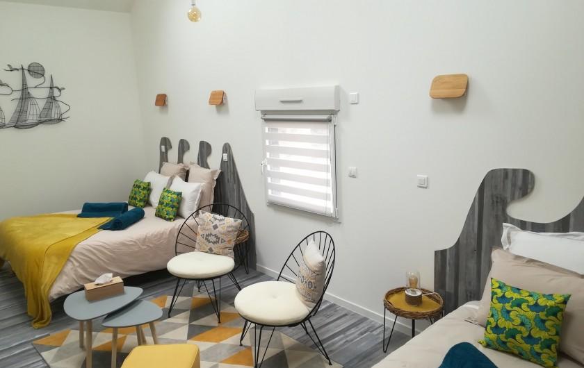 """Location de vacances - Chambre d'hôtes à Saint-André-de-la-Marche - Chambre """"Mer"""""""