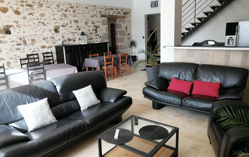 Location de vacances - Chambre d'hôtes à Saint-André-de-la-Marche - Pièce commune