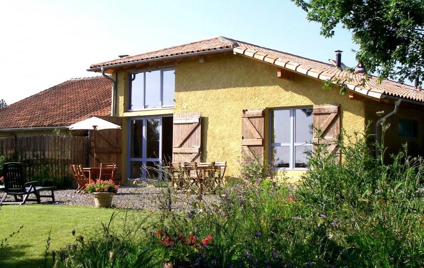 """Location de vacances - Gîte à Lamaguère - Notre gîte écologique """"Frênes""""."""