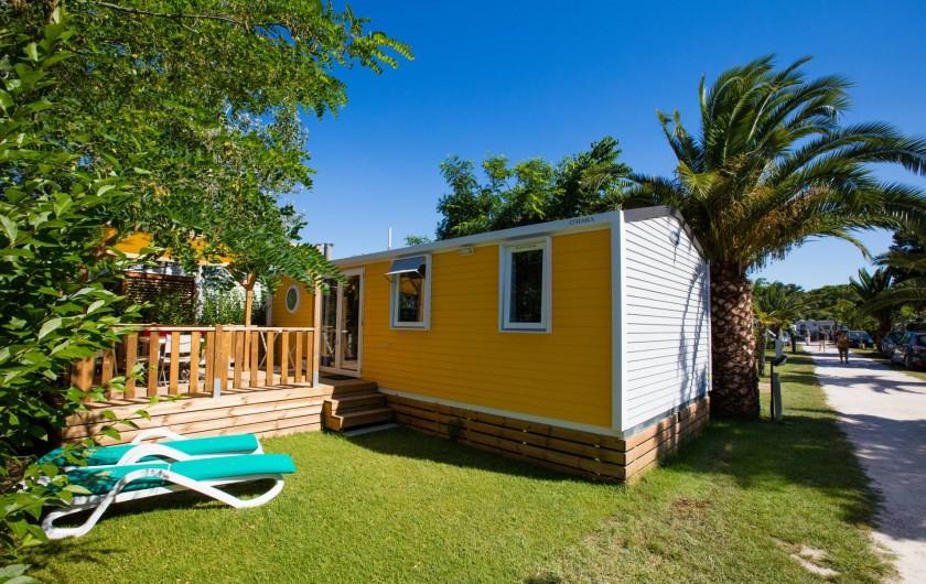 Location de vacances - Bungalow - Mobilhome à Agde - MH 35m²
