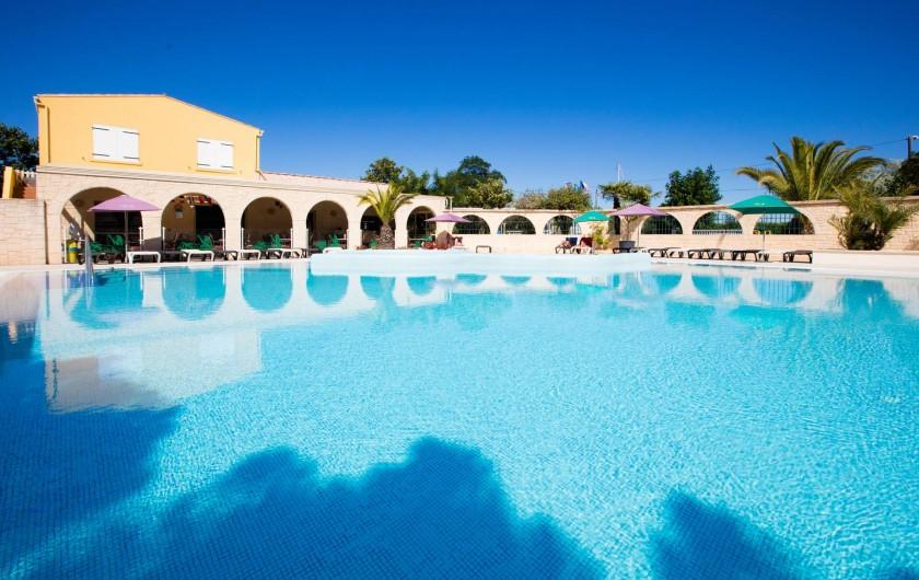 Location de vacances - Bungalow - Mobilhome à Agde - Notre piscine