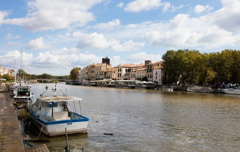 Location de vacances - Bungalow - Mobilhome à Agde - Fleuve Hérault
