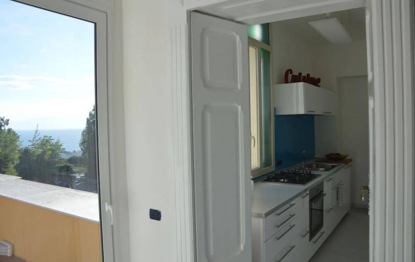 Location de vacances - Appartement à Naples - Cuisine