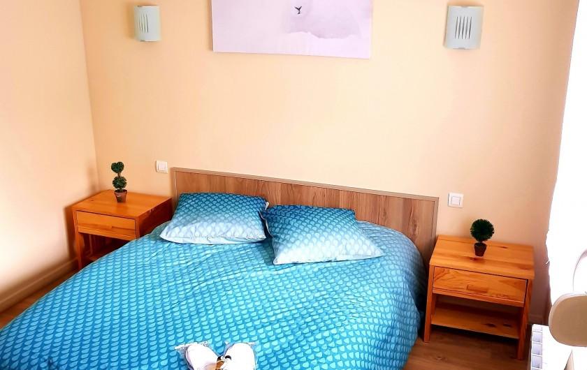 Location de vacances - Appartement à Xonrupt-Longemer - la Chambre, linge de lit offert, tout est prêt à votre arrivée