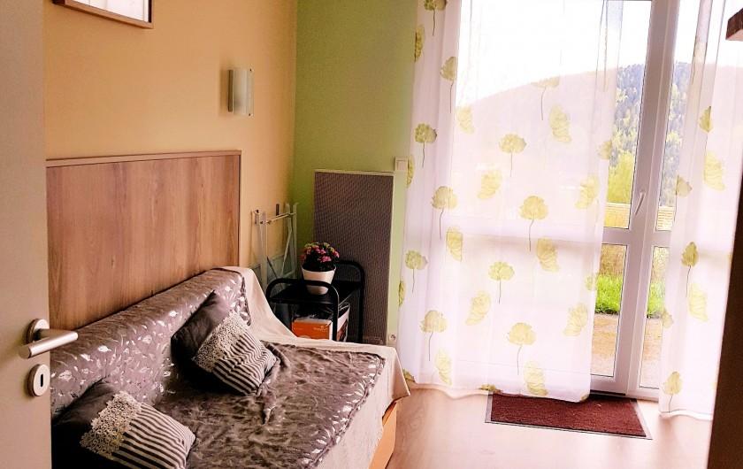Location de vacances - Appartement à Xonrupt-Longemer - SALON avec vue panoramique et accès terrasse