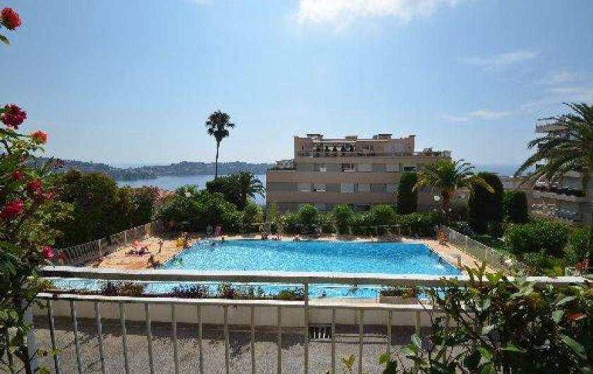 Location de vacances - Studio à Villefranche-sur-Mer - Vue de l'appartement