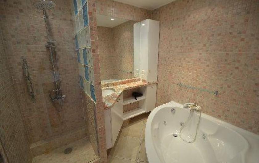 Location de vacances - Studio à Villefranche-sur-Mer - Salle de bains