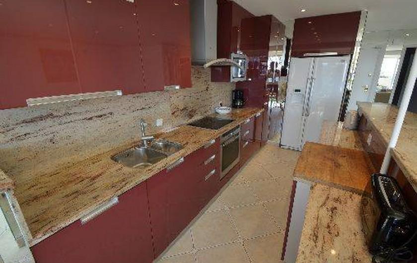 Location de vacances - Studio à Villefranche-sur-Mer - Coin Cuisine