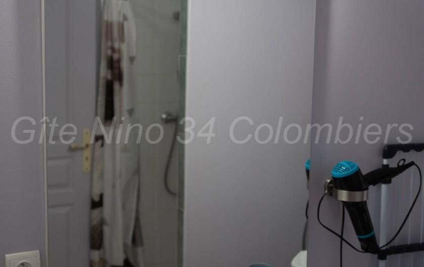 Location de vacances - Appartement à Colombiers - Vue depuis l'entrée principale