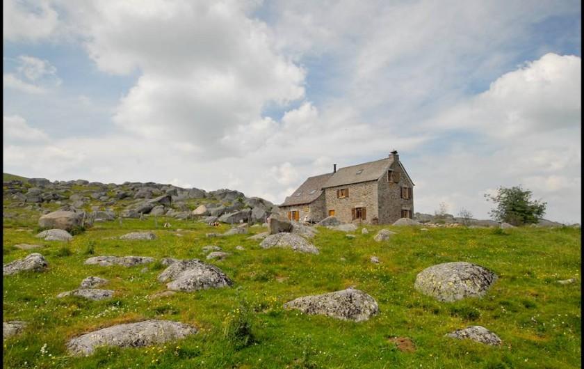 Location de vacances - Gîte à Saint-Pierre-de-Nogaret - Refuge des Rajas