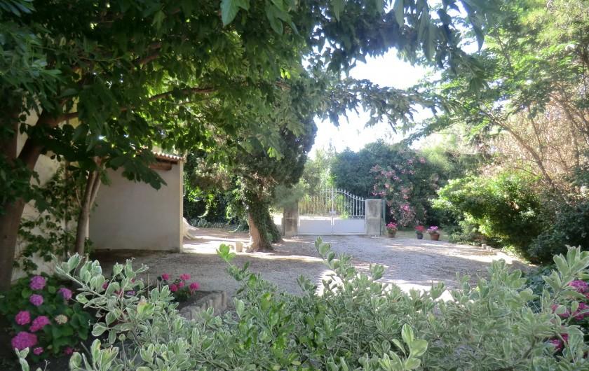 Location de vacances - Appartement à Saint-Gilles - cours