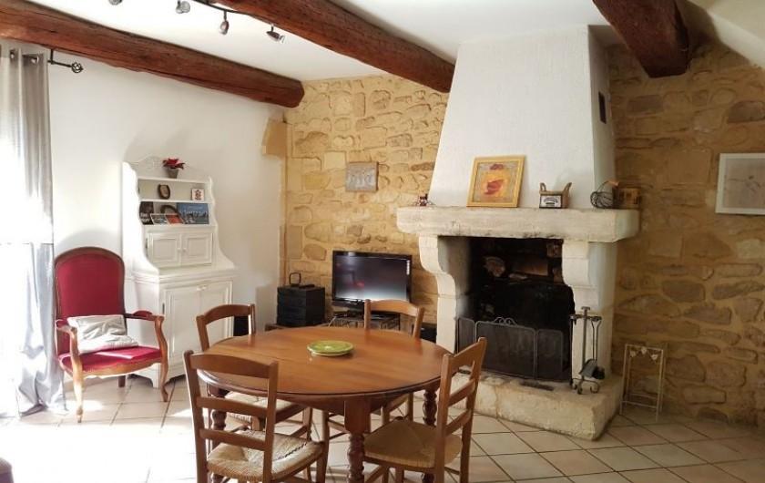 Location de vacances - Appartement à Saint-Gilles - salon/séjour