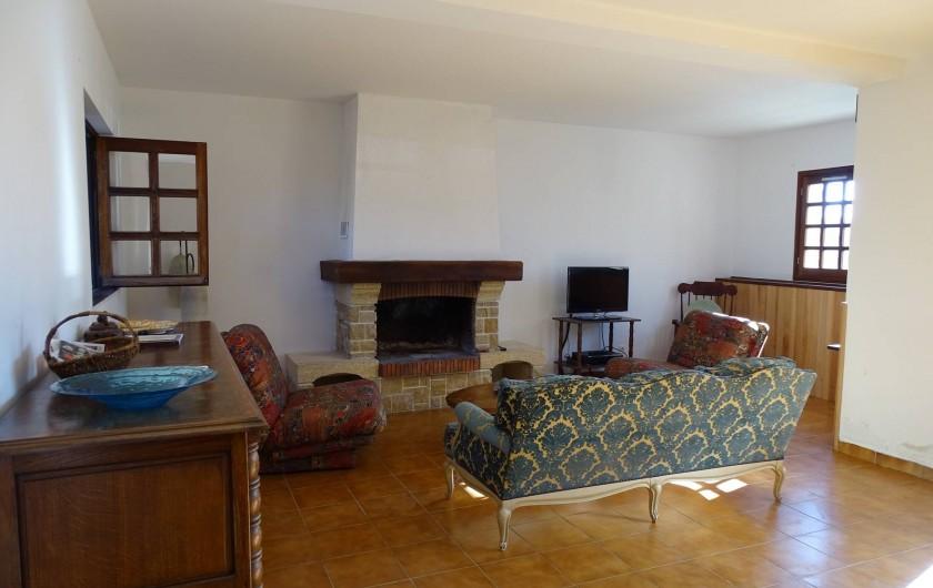 Location de vacances - Gîte à Louslitges - Salon