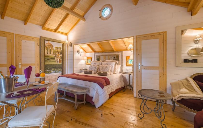 Location de vacances - Cabane dans les arbres à Clairac - Votre chambre