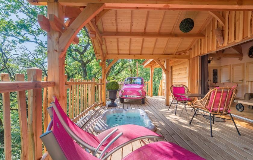 Location de vacances - Cabane dans les arbres à Clairac