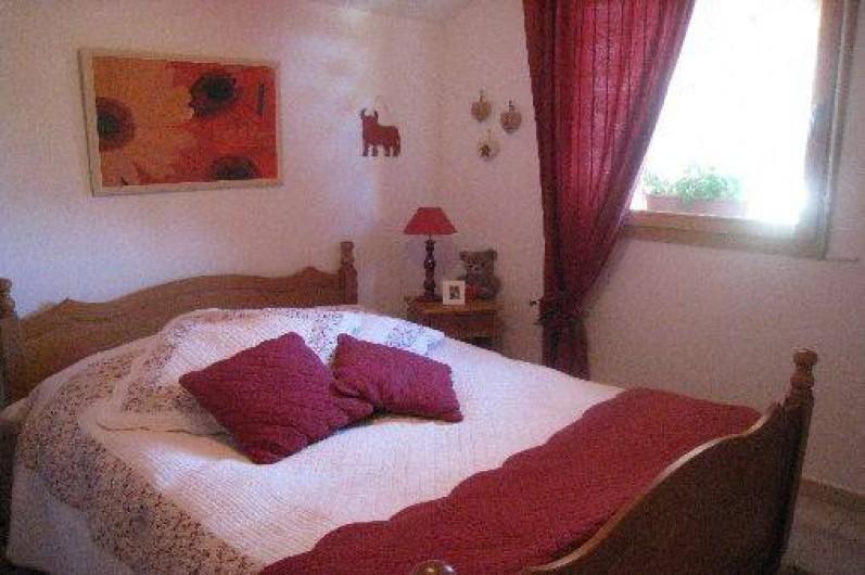 Location de vacances - Appartement à Gérardmer - chambre avec tv